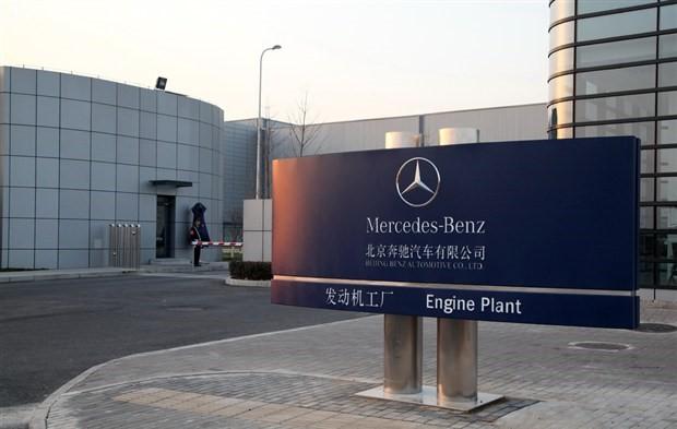 【安装现场】北京奔驰发动机工厂Leica S9i电动立柱体视显微镜安装调试成功