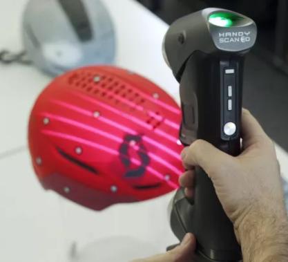 """【行业应用】Creaform 3D扫描仪之安全头盔还可以这么""""玩"""